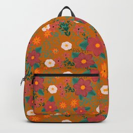 Colorful flowers Backpack