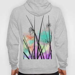Slow down amongst the rushes Hoody
