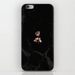Forever Petal (Black Rose) iPhone Skin