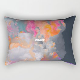 Orage (Colorful clouds in the sky III) Rectangular Pillow