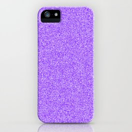 Melange - White and Indigo Violet iPhone Case