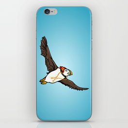Puffin Wearing A Hat iPhone Skin