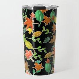 Herbstlaub colorful Travel Mug