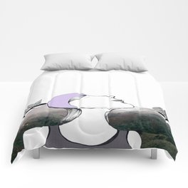 Up for Air Comforters
