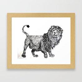 λιοντάρι  Framed Art Print