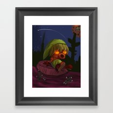 Deku Link Framed Art Print