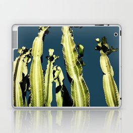 Cactus - blue Laptop & iPad Skin