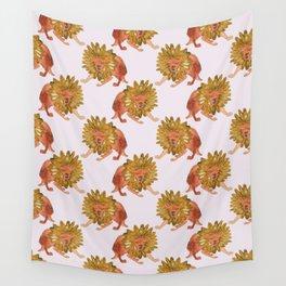 monster sunflower Wall Tapestry