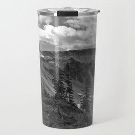 heather meadows, wa, usa  b&w Travel Mug