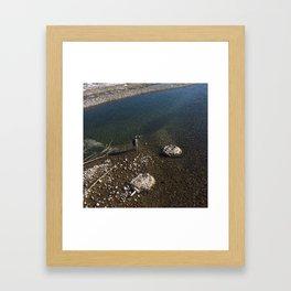 Fishing in Jackson, WY Framed Art Print