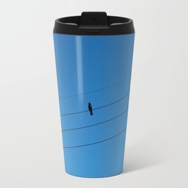 Bird on a wire Travel Mug