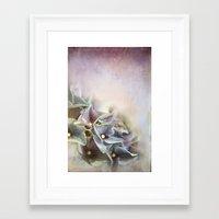 hydrangea Framed Art Prints featuring HYDRANGEA by INA FineArt
