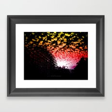 Roller Coaster 007 Framed Art Print