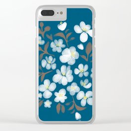 Snowdrops in a bouquet Clear iPhone Case
