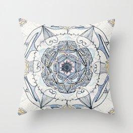 Mandy's Mandala Throw Pillow