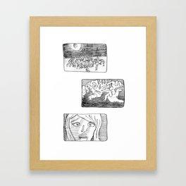 Last Scream Framed Art Print
