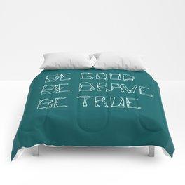 Be Love [in mid ocean teal] Comforters