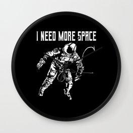 Astronaut Cosmonaut Space Universe Motif Wall Clock