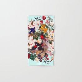Floral and Birds XXXI Hand & Bath Towel