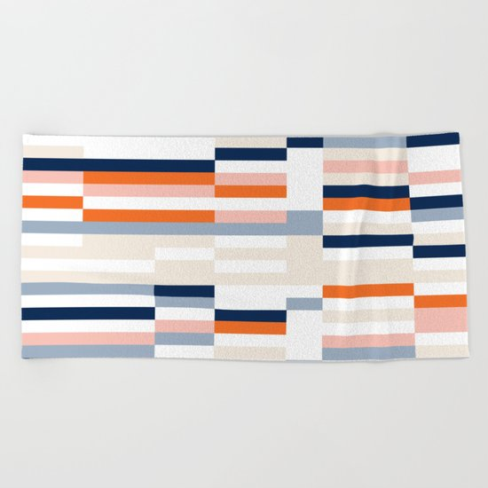 Connecting lines 2. Beach Towel