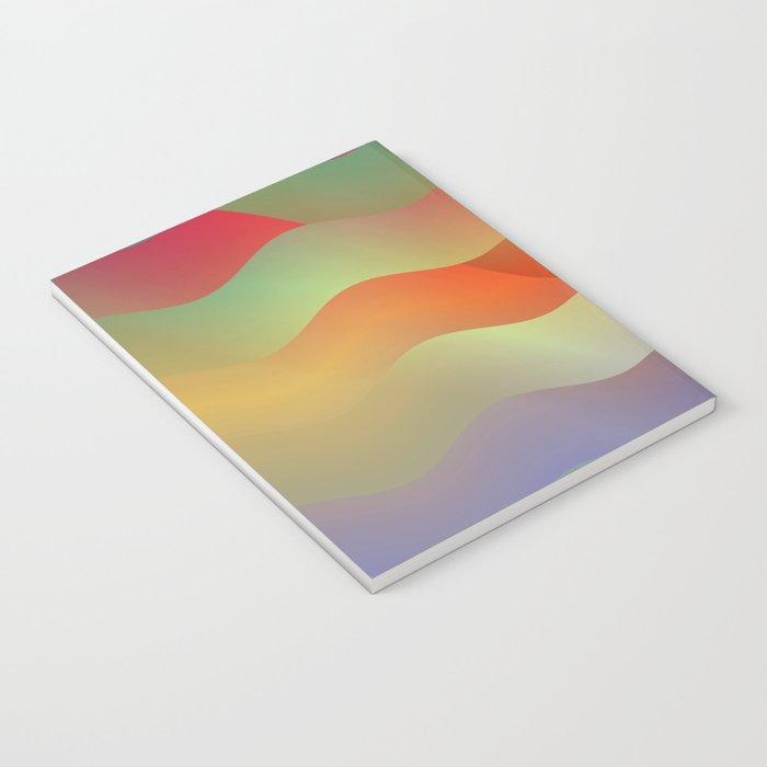 Red Mountain Mist Notebook
