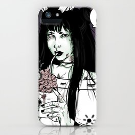 agatha zombie iPhone Case