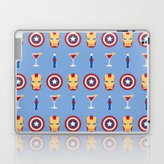 Superheroes Laptop & iPad Skin