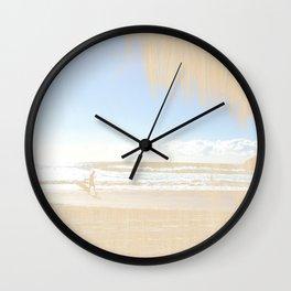Beachwood Wall Clock