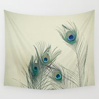 cassia beck Wall Tapestries featuring All Eyes Are on You by Cassia Beck