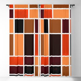 Mondrian No. 87 Blackout Curtain
