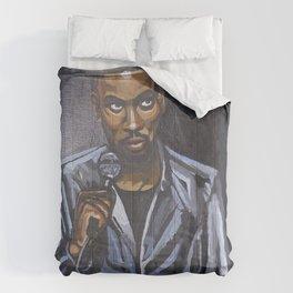 Chris Stand-Up Rock Portrait Comforters