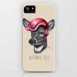 Norma Doe iPhone Case