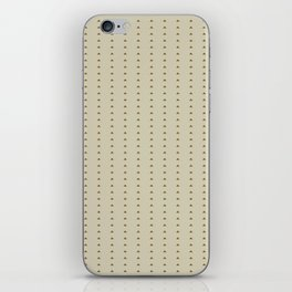 Mini triangle pattern - Warm caffee iPhone Skin