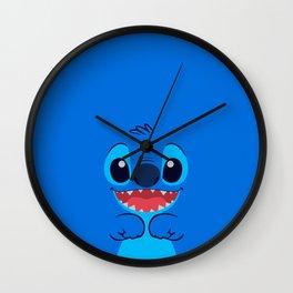 Stitch Cute Face Wall Clock