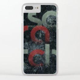 Scratch Clear iPhone Case