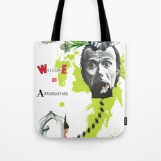 welcome to absurdistan/ no. 103/365 Tote Bag