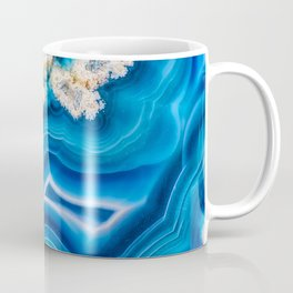 Blue Island Agate Coffee Mug