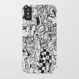 Coloring Page For Literacy iPhone Case