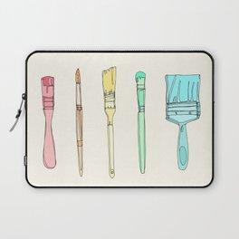 Paintbrushes Laptop Sleeve