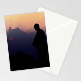 Contemplation - Spiritual jorney of a Monk T-Shirt Stationery Cards
