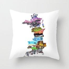 Prythian Throw Pillow