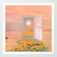 A new door Art Print