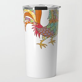 Life Is Better With Chickens Around Funny Animals Travel Mug