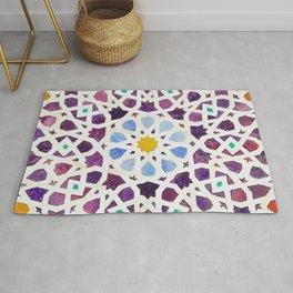 moroccan mosaic artwork Rug