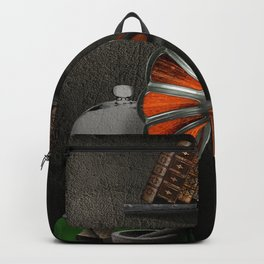 Still-life with the gramophone Backpack