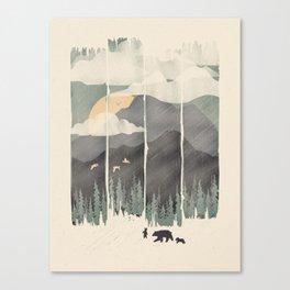 Spring Mountain Weather Canvas Print