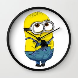 minion Wall Clock