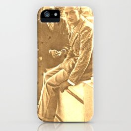 Salvador DALI. First interview. 1928 iPhone Case