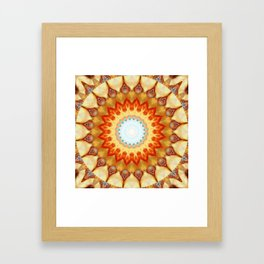 Mandala magnificence Framed Art Print