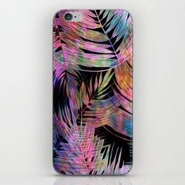 Waikiki Tropic {Black} iPhone Skin